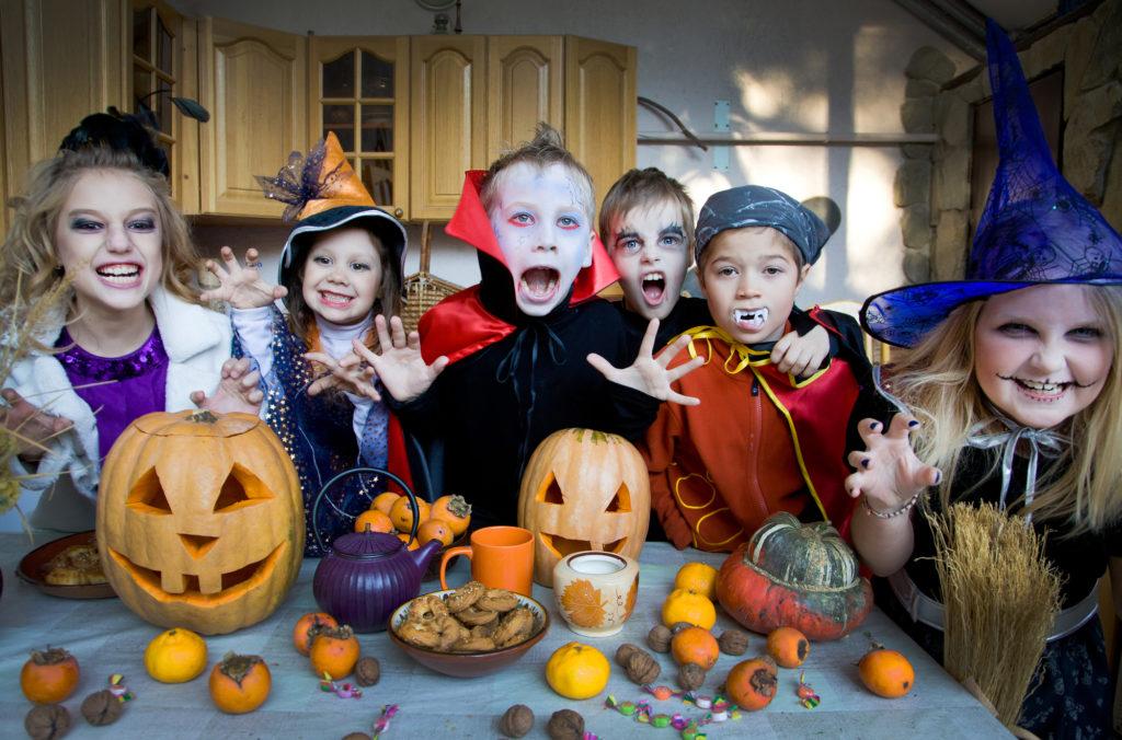 Хэллоуин фото празднование