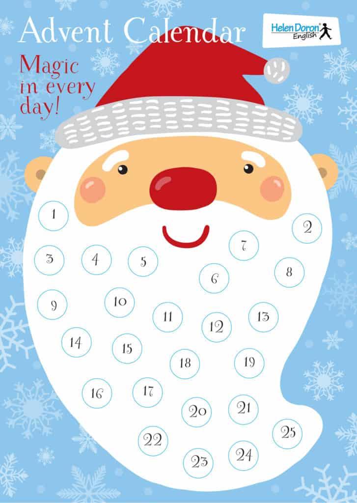 Рождественский календарь Helen Doron: 25 идей для новогоднего настроения