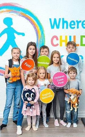 общее у курсов английского для детей