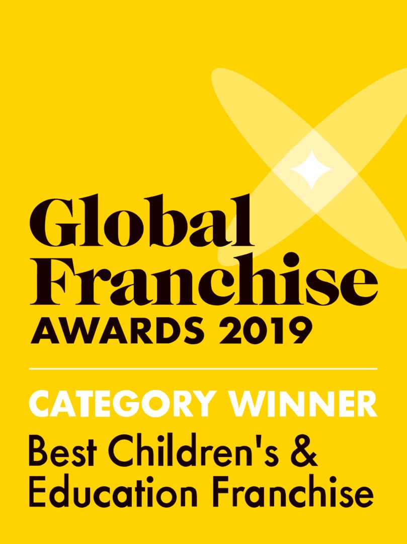 В 2019 мы получили награду в номинации Best Children's & Educational Franchise (Лучшая детская и образовательная франшиза).