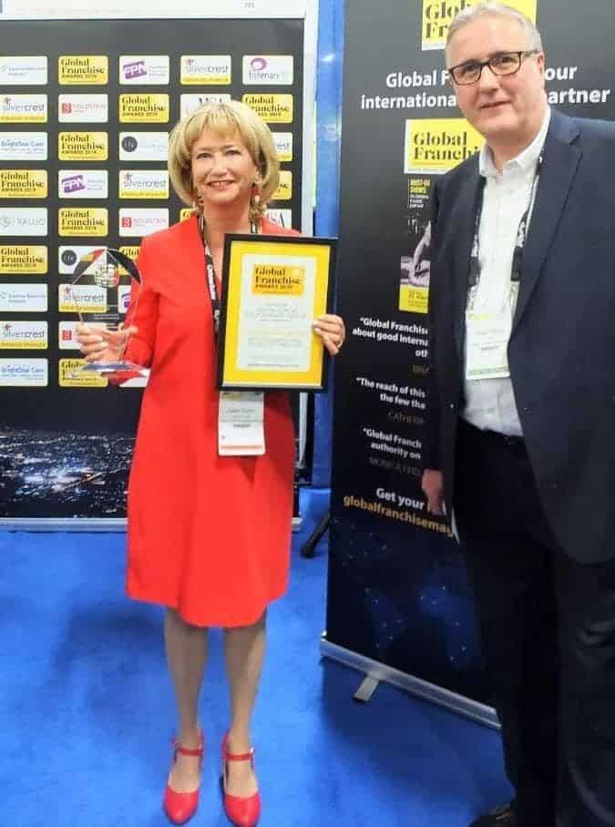 Награда Global Franchise Award отмечает достижения в области международного франчайзинга