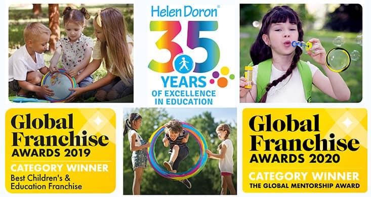 Сеть Helen Doron English отметила юбилей — 35 лет