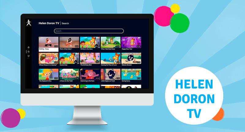 Международный запуск Helen Doron TV